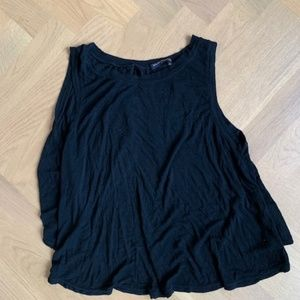 Brandy Melville Open Back Black Tank